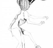 Nina Annabelle Märkl | o.T. | ink on paper | 31,5 x 22,5 cm | 2012