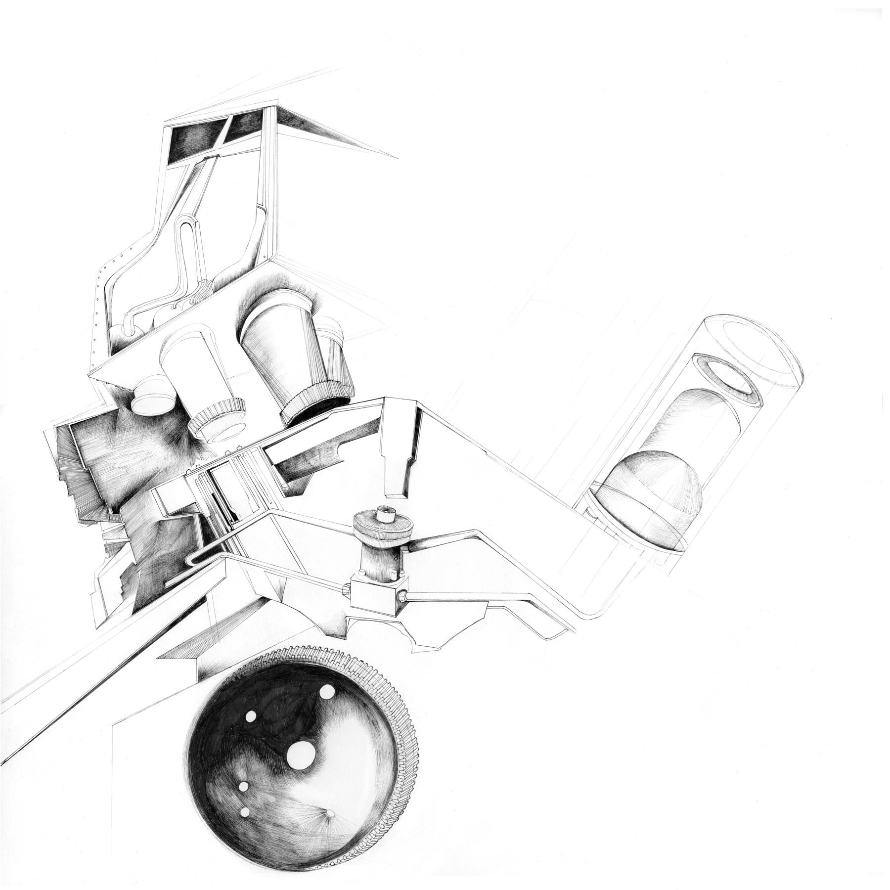 Nina Annabelle Märkl | Untitled | Ink on paper | 40 x 40 cm | 2014