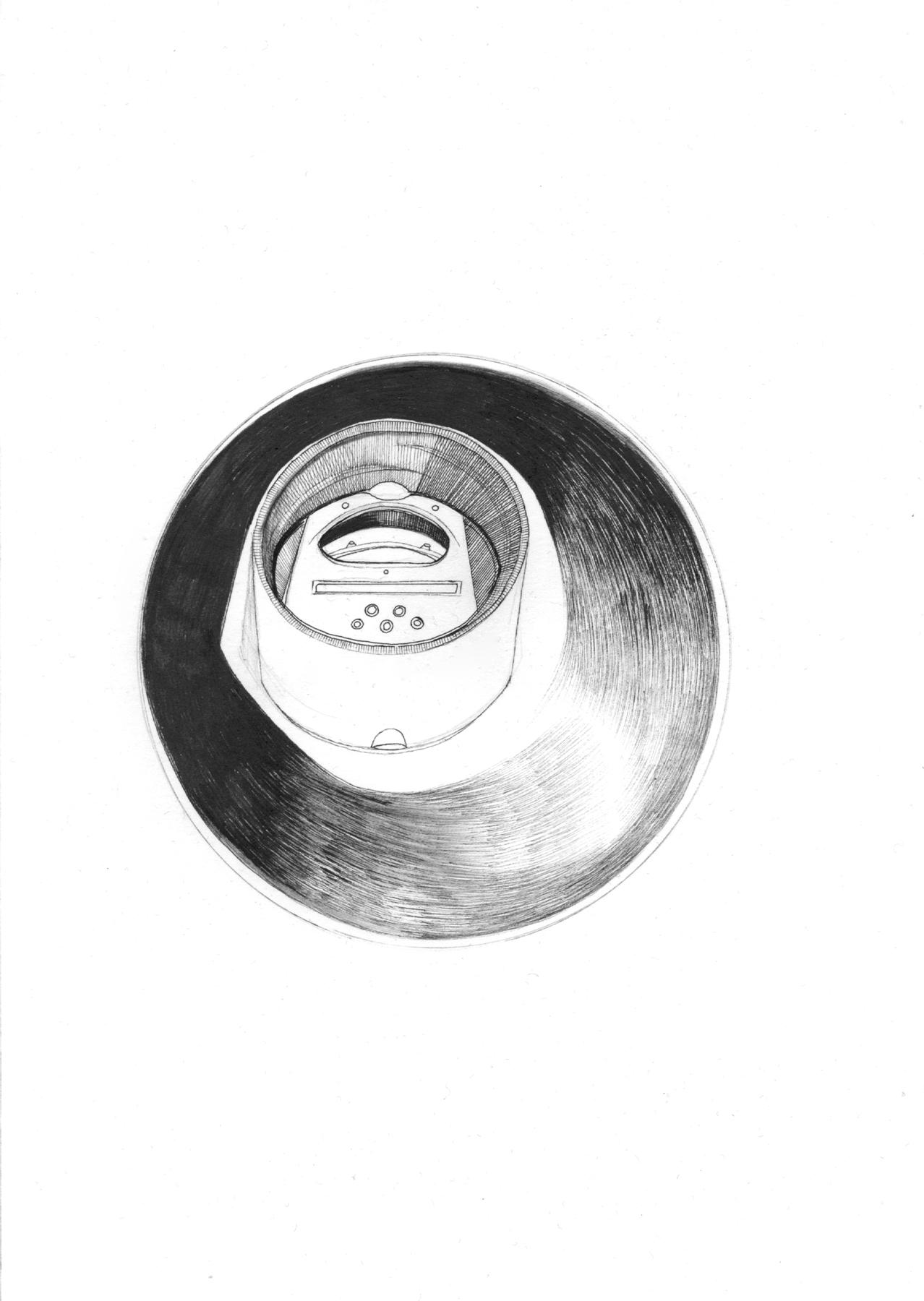 Nina Annabelle Märkl | Fragments III | ink on paper | 21 x 15 cm