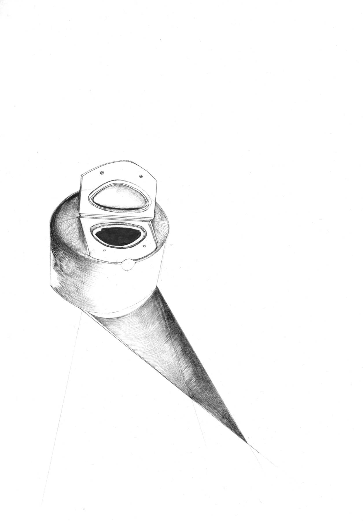 Nina Annabelle Märkl | Fragments II | ink on paper | 21 x 15 cm