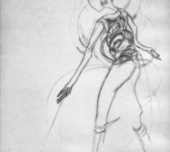 Nina Annabelle Märkl | One step inside 11|14 | Kaltnadel, Tusche, Bleistift, 300g Hahnemühle Büttenpapier | Platte 35 x 23 cm Papier 56 x 39 cm