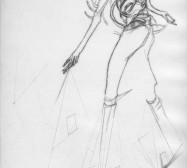Nina Annabelle Märkl | One step inside 14|14 | Kaltnadel, Tusche, Bleistift, 300g Hahnemühle Büttenpapier | Platte 35 x 23 cm Papier 56 x 39 cm