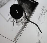 Nina Annabelle Märkl | Balancing the Whimsical 1 | Ink on paper | 65 x 40 cm