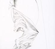Nina Annabelle Märkl | Shifting Perceptions 3 | Ink on paper | 40 x 30 cm | Detail