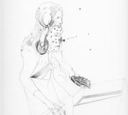 Nina Annabelle Märkl | Shifting Perceptions 4 | Ink on paper | 40 x 30 cm | Detail