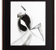 Nina Annabelle Märkl | Shifting perceptions I | ink on paper, black paper | 59 x 42 cm | 2015 | photo: Sebastian Schels