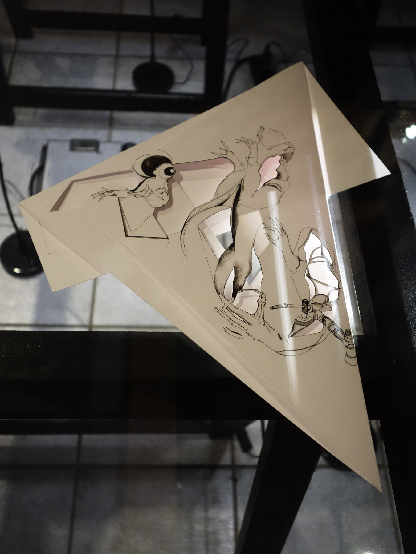 Nina Annabelle Märkl   Inselgruppe bei Kunstlicht   Ausstellung im Kunstverein Essenheim   Februar 2016
