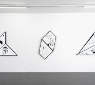 Nina Annabelle Märkl | Torsionen | Exhibition view | Galerie MaxWeberSixFriedrich| München | 2016/2017
