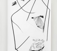 Nina Annabelle Märkl | Displays 4 | Ink on paper | 270 x 135 cm | 2017