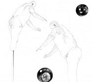 Nina Annabelle Märkl | Desideranten, Desiderate 1 | Tusche und Bleistift auf Papier | 35,5 x 28 cm | 2018