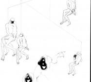 Nina Annabelle Märkl | Desideranten, Desiderate 2 | Tusche und Bleistift auf Papier | 35,5 x 28 cm | 2018