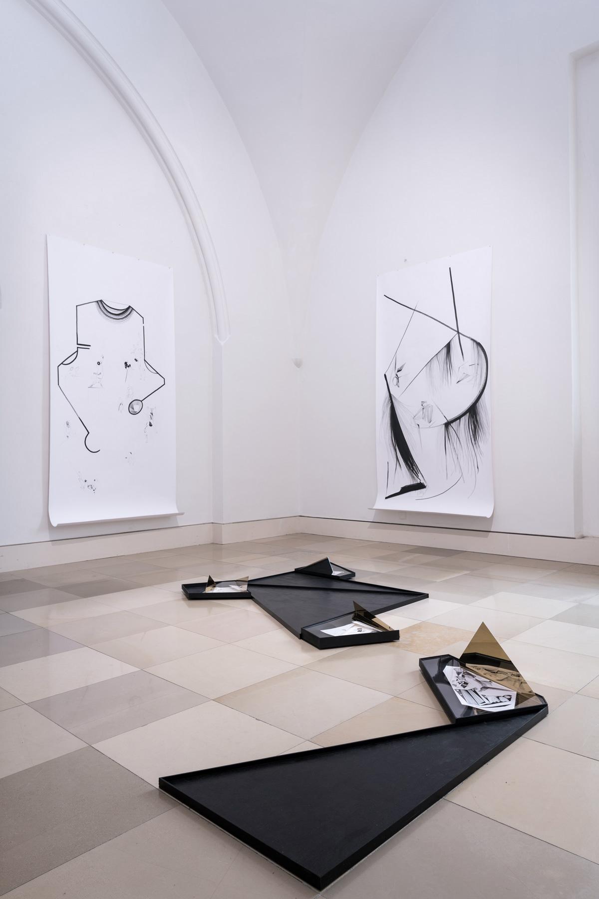 Nina Annabelle Märkl | Installationsansicht | Galerie der Künstler München | 2018 | Foto: Achim Schäfer