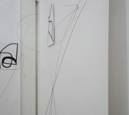 Nina Annabelle Märkl | Ink, steel and magnet drawings | installation | open studios | 2018