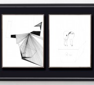 Shifting Perceptions_muc 12 und Desideranten, Desiderate 5 | 35,5 x 28 cm | Tusche auf Papier | 2016/2019
