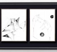 Shifting Perceptions_muc 14 und Desideranten, Desiderate 1 | 35,5 x 28 cm | Tusche auf Papier | 2015/2019