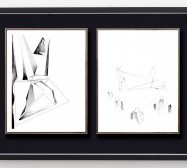 Shifting Perceptions_muc 4 und 3 | 35,5 x 28 cm | Tusche auf Papier | 2016/2019