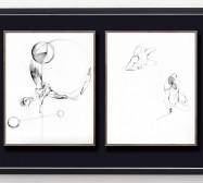 Shifting Perceptions_muc 6 und 1 | 35,5 x 28 cm | Tusche auf Papier | 2016/2019