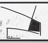 Typologie_Frames | 50 x 70 cm | Tusche und Bleistift auf Papier | 2019 | Foto: Walter Bayer