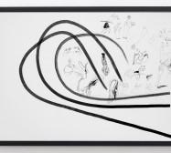 Typologie_Hände | 50 x 70 cm | Tusche und Bleistift auf Papier | 2019 | Foto: Walter Bayer