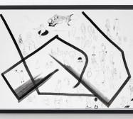 Typologie_Körper 2 | 50 x 70 cm | Tusche und Bleistift auf Papier | 2019 | Foto: Walter Bayer
