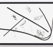 Typologie_Schatten | 50 x 70 cm | Tusche und Bleistift auf Papier | 2019 | Foto: Walter Bayer