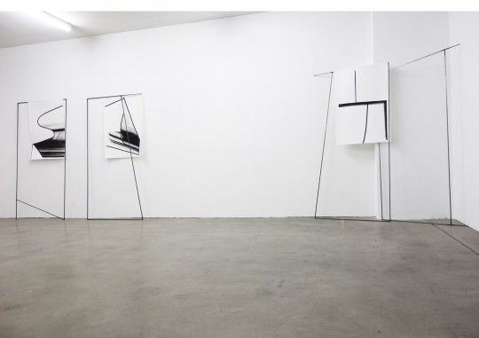 Frames | Installationsansicht | Z Common Ground, München | 2019