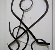 Terzett | Tusche auf Papier, Cutouts | Detail, 41 x 30 cm