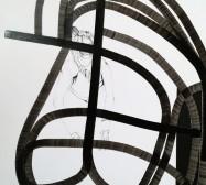 Terzett | Tusche auf Papier, Cutouts | Detail