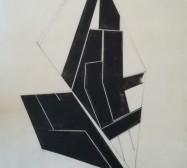 The other hand | Abwicklung 1| Tusche auf Papier | 41 x 30 cm