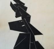 The other hand | Abwicklung 4| Tusche auf Papier | 41 x 30 cm