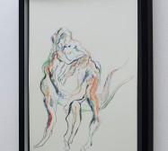 Creatures 1 | Aquarell | 50 x 40 cm | 2020 | Foto: zeegaro