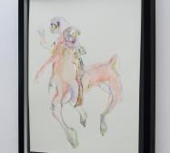 Creatures 3 | Aquarell | 50 x 40 cm | 2020 | Foto: zeegaro