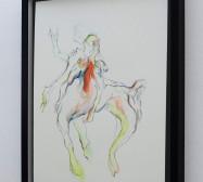 Creatures 4 | Aquarell | 50 x 40 cm | 2020 | Foto: zeegaro