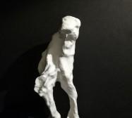 Wesen 1 | Paperclay | 20 x 8 x 8 cm | 2019/2020