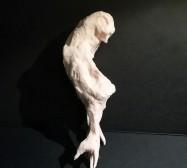 Wesen 2 | Paperclay | 20 x 8 x 8 cm | 2019/2020
