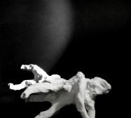 Wesen, Vielarmiges 2| Paperclay | ca. 13 x 10 x 22 cm | 2019/2020