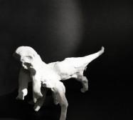 Wesen, Vielarmiges 1| Paperclay | ca. 13 x 10 x 22 cm | 2019/2020