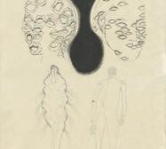 The other Hand | Köpfe |Tusche auf Papier | 42 x 31 cm | 2019