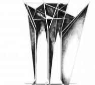 Mikroklima 11 | 29,7 x 21 cm | Tusche auf Papier | 2020