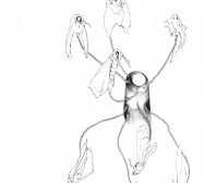 Mikroklima 13 | 29,7 x 21 cm | Tusche auf Papier | 2020