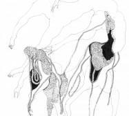 Mikroklima 19 | 29,7 x 21 cm | Tusche auf Papier | 2020