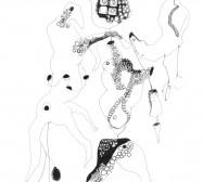 Mikroklima 20 | 29,7 x 21 cm | Tusche auf Papier | 2020
