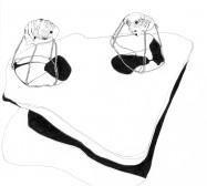 Mikroklima 21 | 29,7 x 21 cm | Tusche auf Papier | 2020