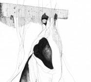 Mikroklima 24 | 29,7 x 21 cm | Tusche auf Papier | 2020