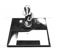 Mikroklima 25 | 29,7 x 21 cm | Tusche auf Papier | 2020
