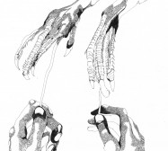 Mikroklima 32 | 29,7 x 21 cm | Tusche auf Papier | 2020