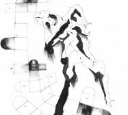 Mikroklima 6 | 29,7 x 21 cm | Tusche auf Papier | 2020