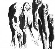 Mikroklima 9 | 29,7 x 21 cm | Tusche auf Papier | 2020