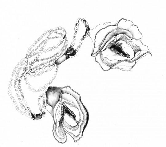 Nina Annabelle Maerkl_Mikroklima 14_ 29,7 x 21 cm_Tusche auf Papier_2020