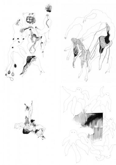 Nina Annabelle Maerkl_Mikroklima Drawings 1_2020